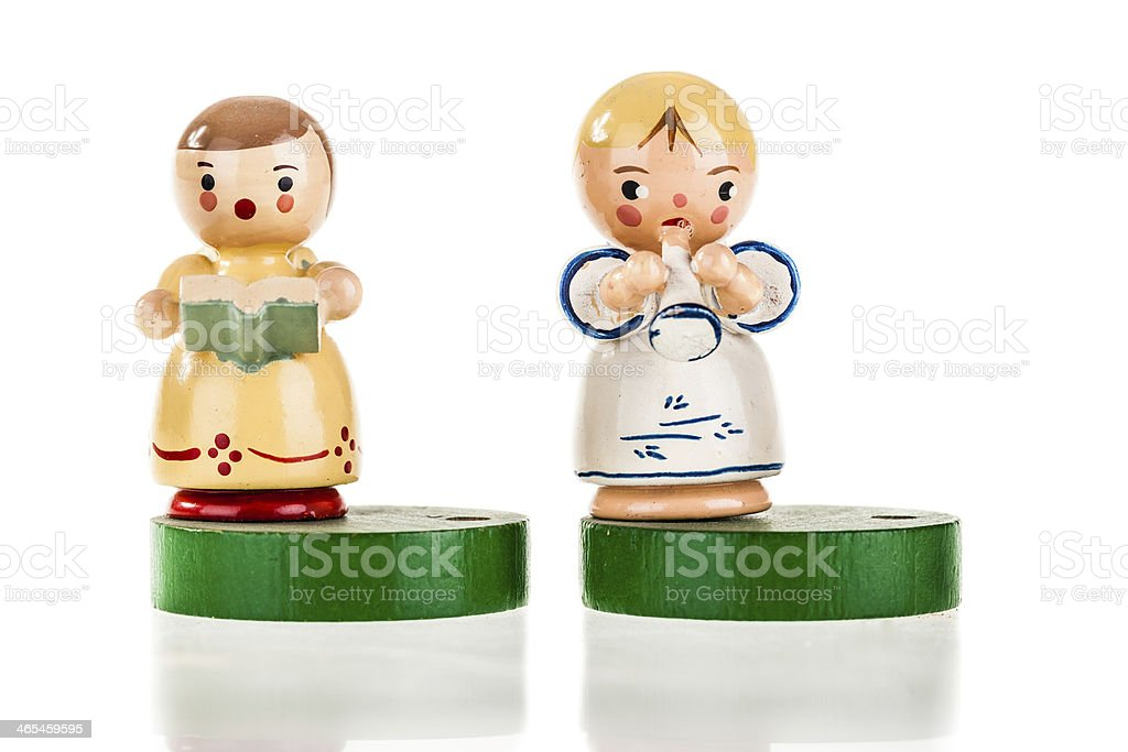 Lovely angels royalty-free stock photo