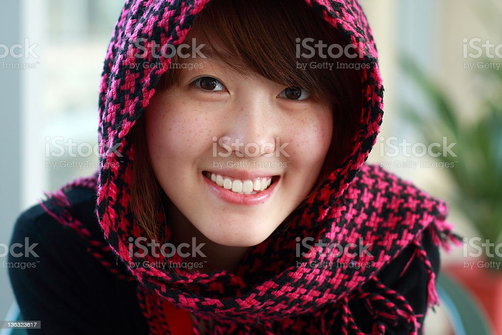 lovely asian girl royalty-free stock photo