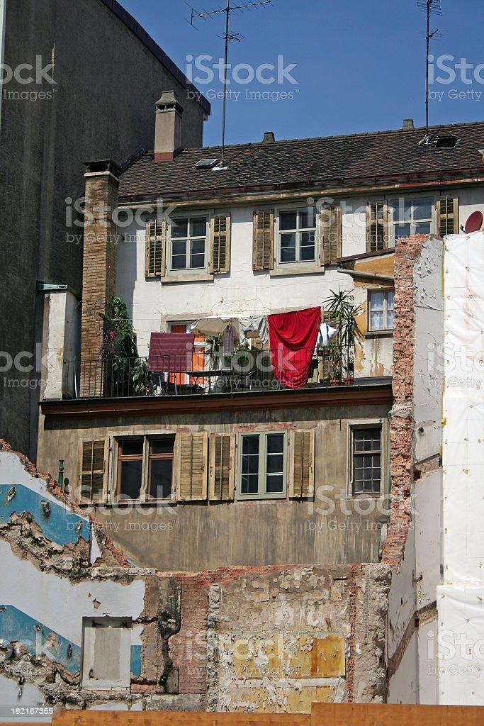 Lovely Balcony stock photo
