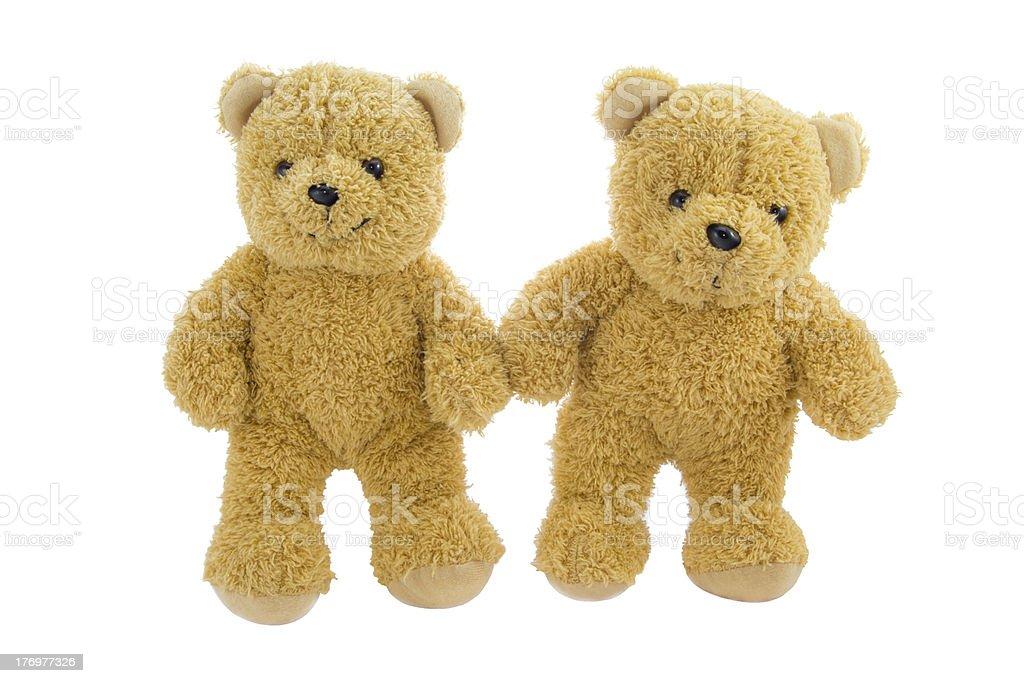 Lovely Bear dolls royalty-free stock photo