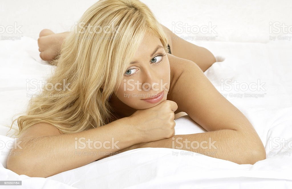 lovely blond #2 royalty-free stock photo