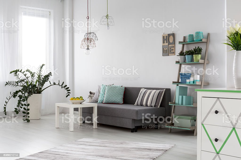 Lovely calm domestic haven stock photo