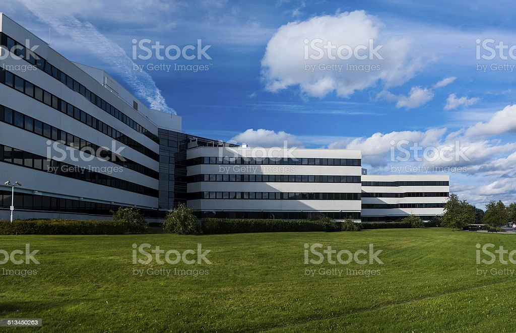 Lovely Campus of Jyvaskyla royalty-free stock photo