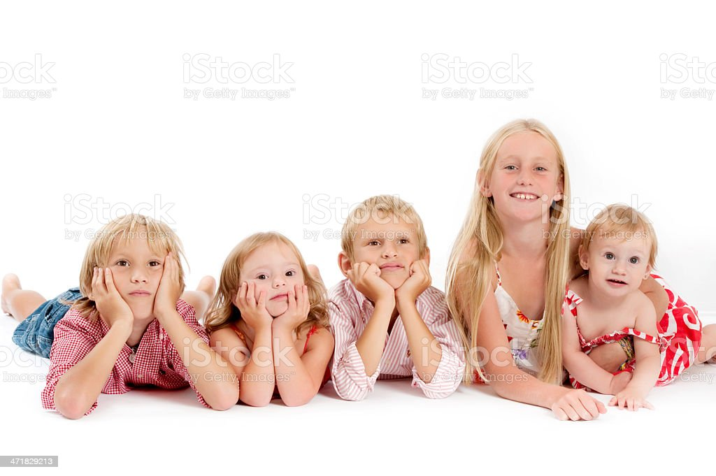 Lovely Childrens royalty-free stock photo