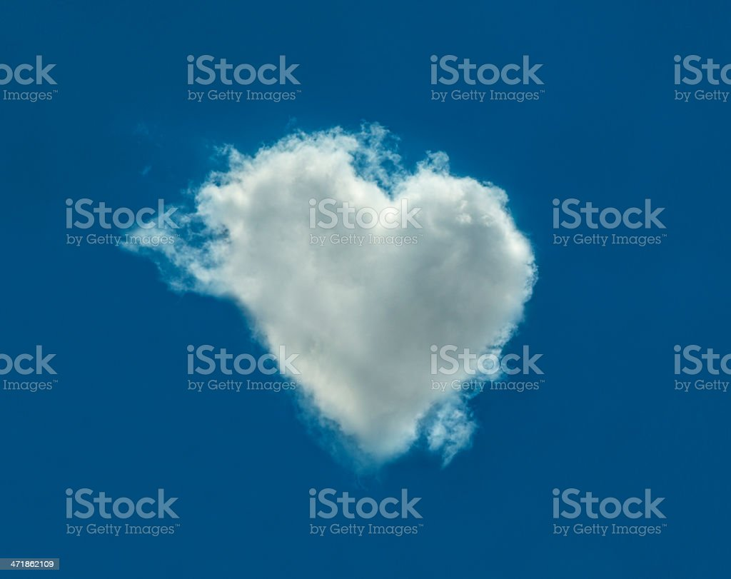 lovely cloud royalty-free stock photo