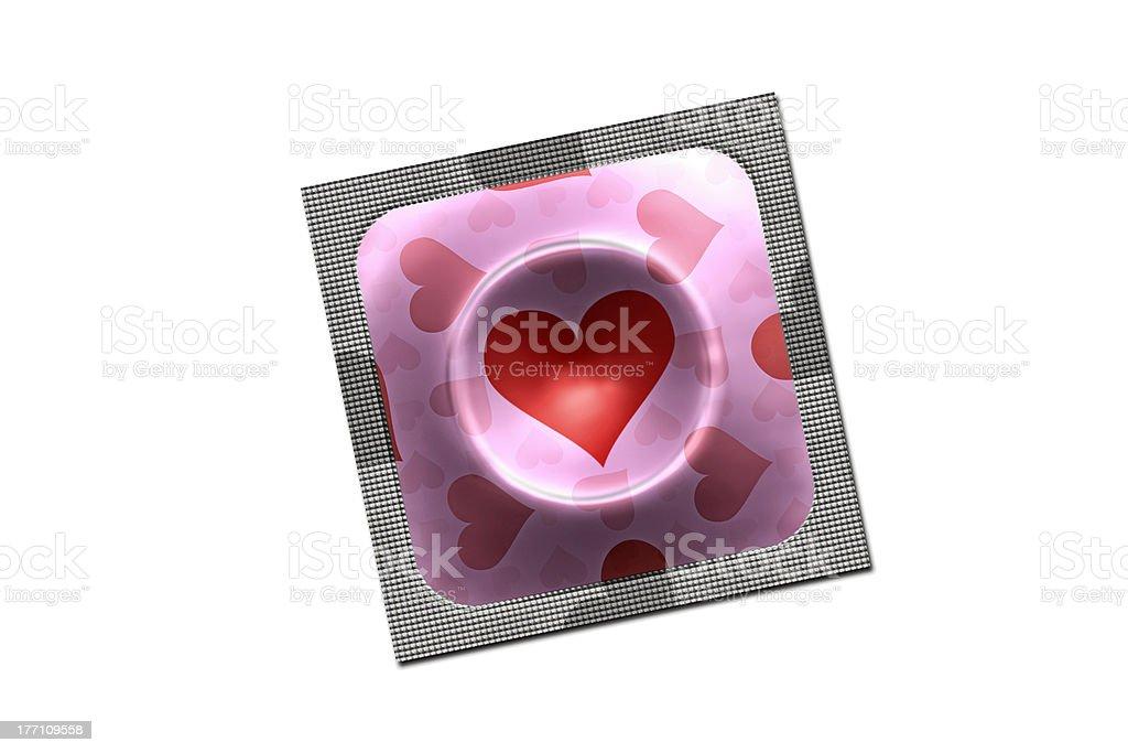 Lovely condom royalty-free stock photo