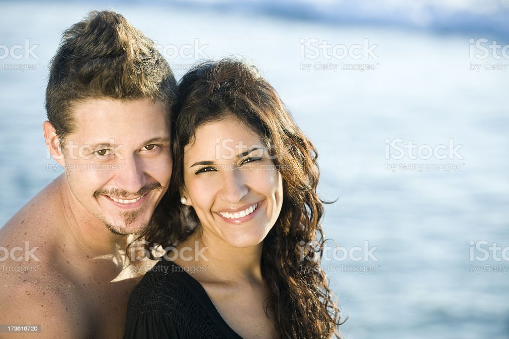 Lovely couple royalty-free stock photo