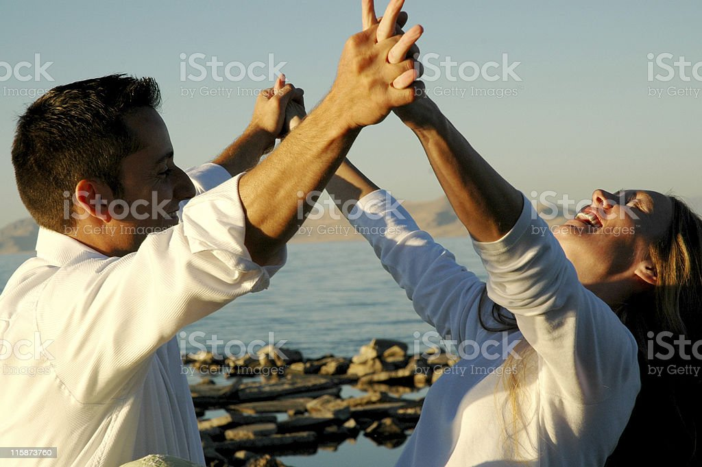 Lovely Couple Series royalty-free stock photo