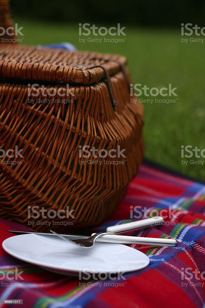 Lovely Day For A Picnic royalty-free stock photo
