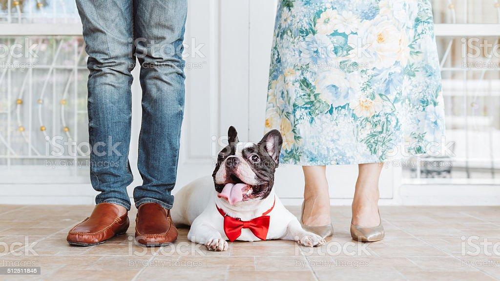 lovely family stock photo