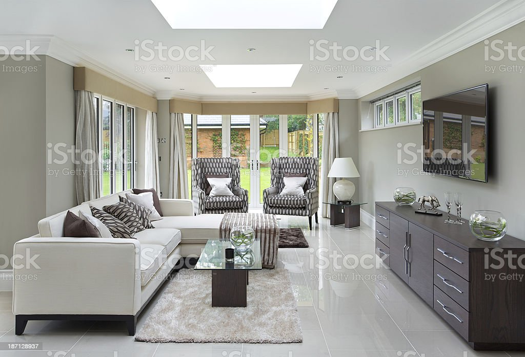 lovely family room royalty-free stock photo
