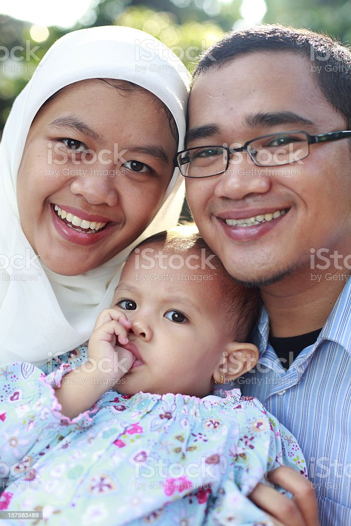 lovely family togehter royalty-free stock photo