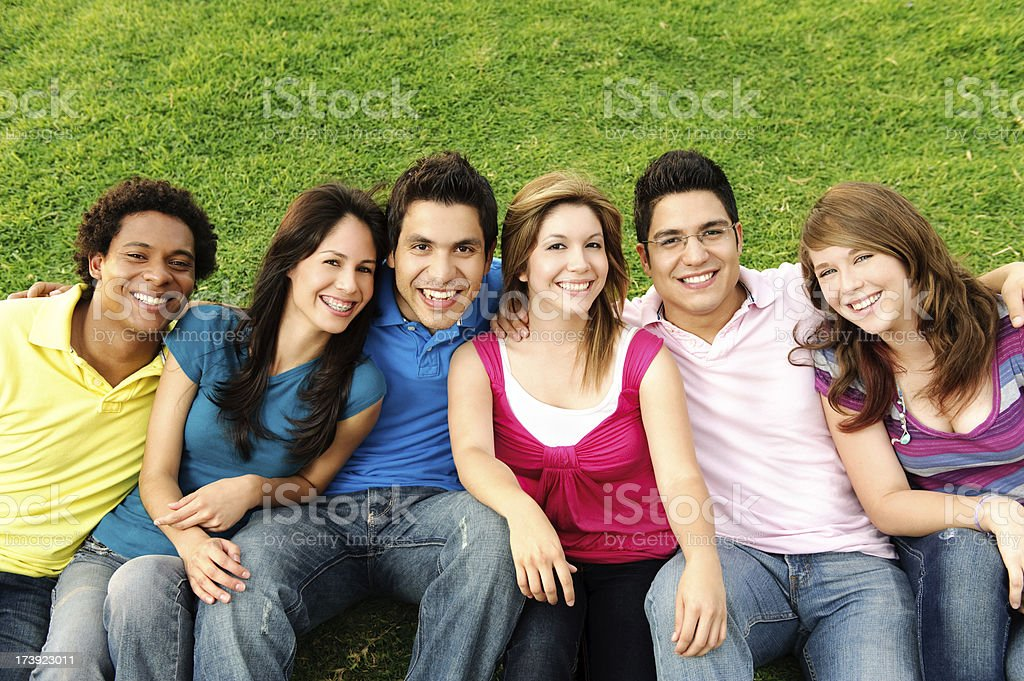 Lovely friends royalty-free stock photo