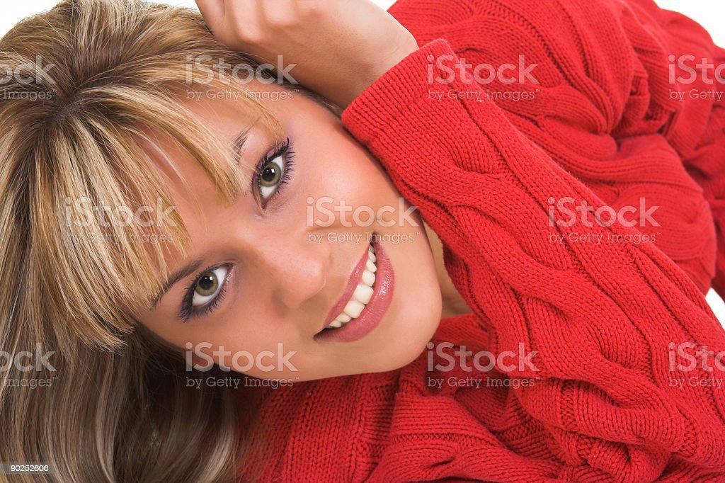 Lovely girl royalty-free stock photo