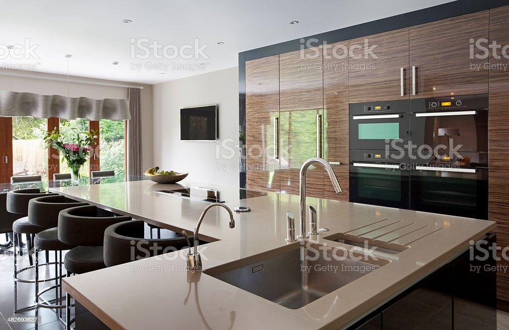 Lovely kitchen stock photo