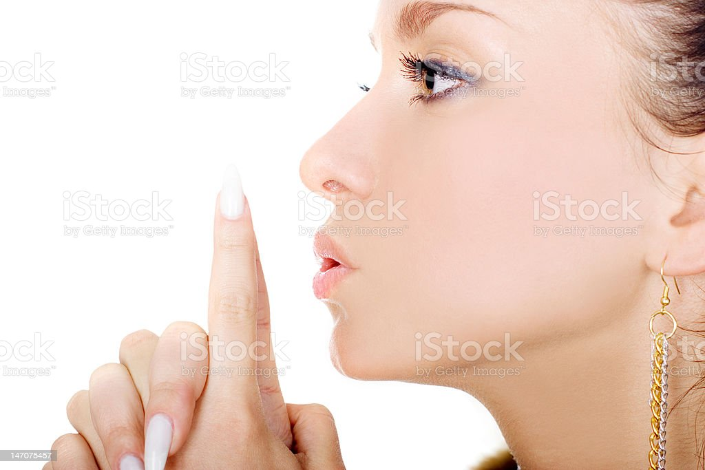 Lovely lady royalty-free stock photo