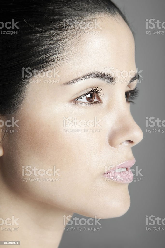 Lovely Latin Woman Closeup royalty-free stock photo