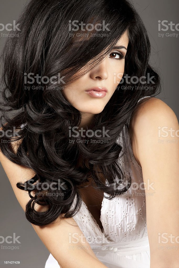 Lovely Latin Woman royalty-free stock photo