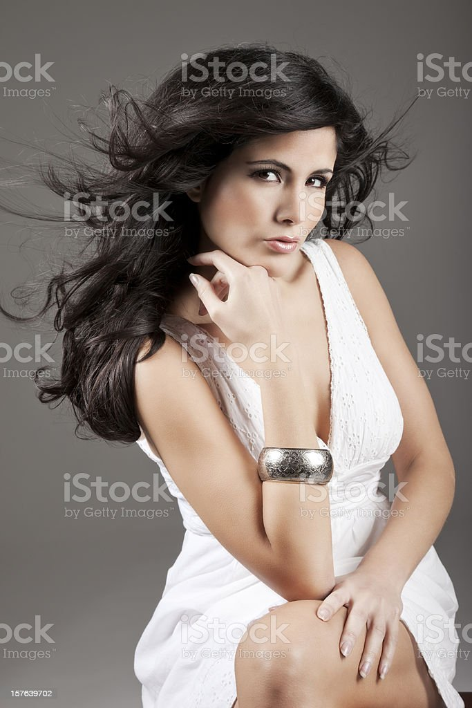 Lovely Latin Woman royalty-free stock photo