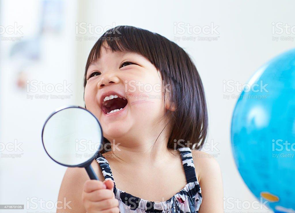 lovely little girl royalty-free stock photo