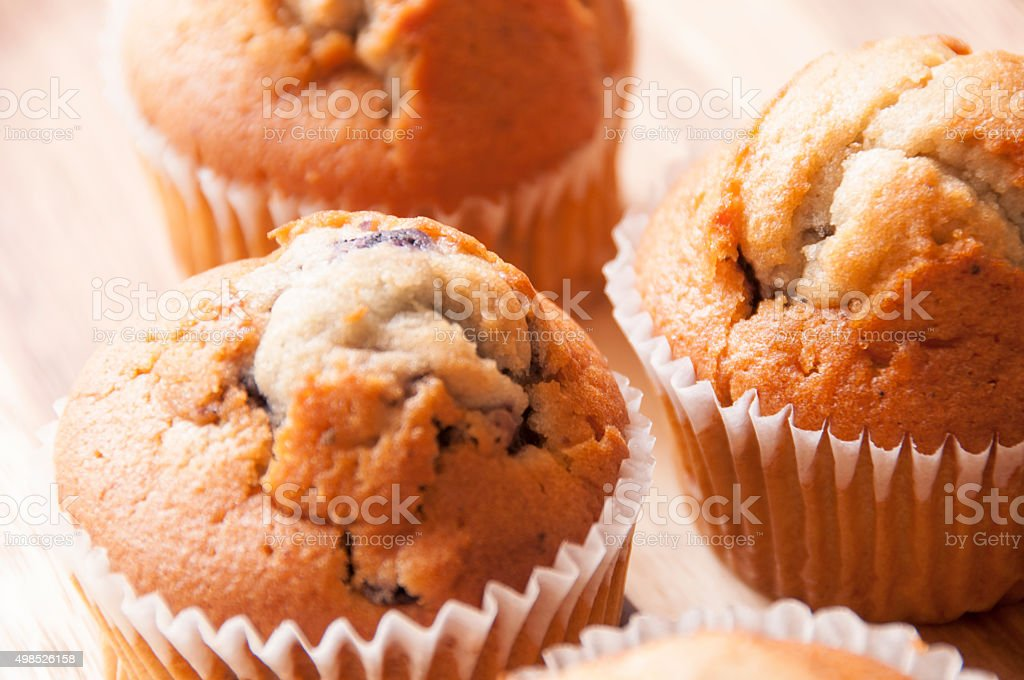 Lovely muffins stock photo