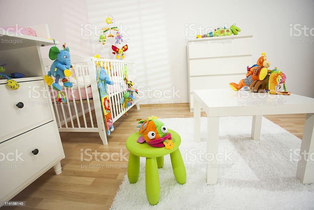 Lovely Nursery Room royalty-free stock photo