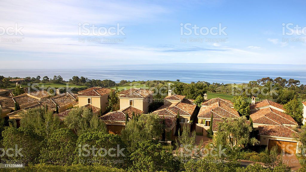 Lovely Ocean View royalty-free stock photo