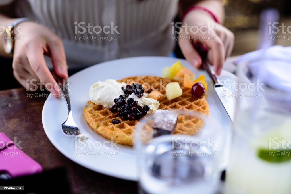 Lovely Pancake stock photo
