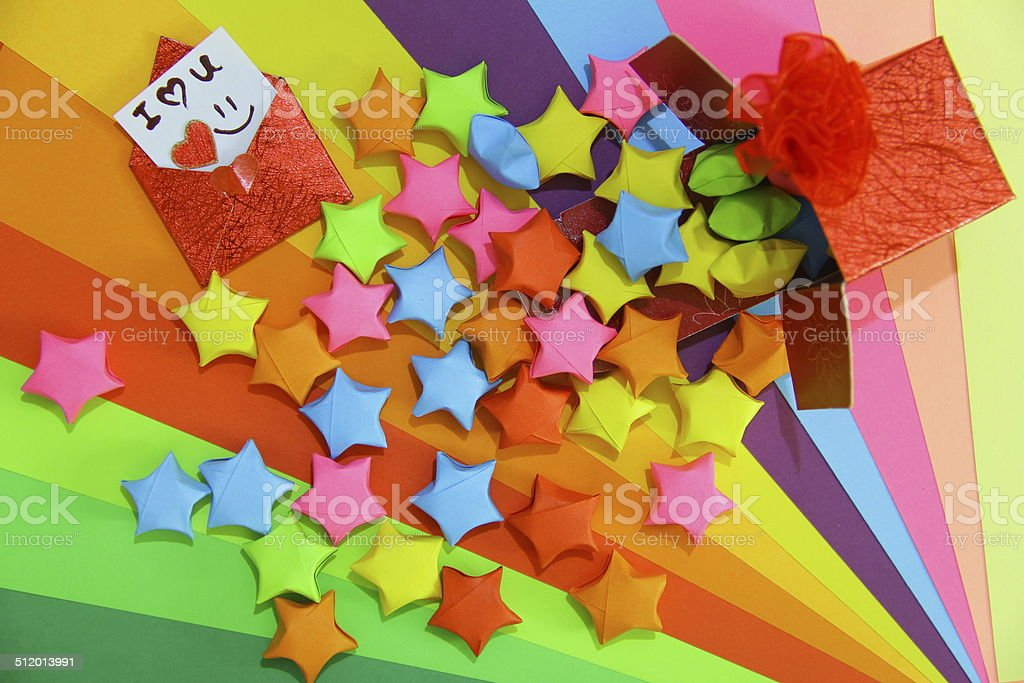 Lovely Present with LOVE! stock photo