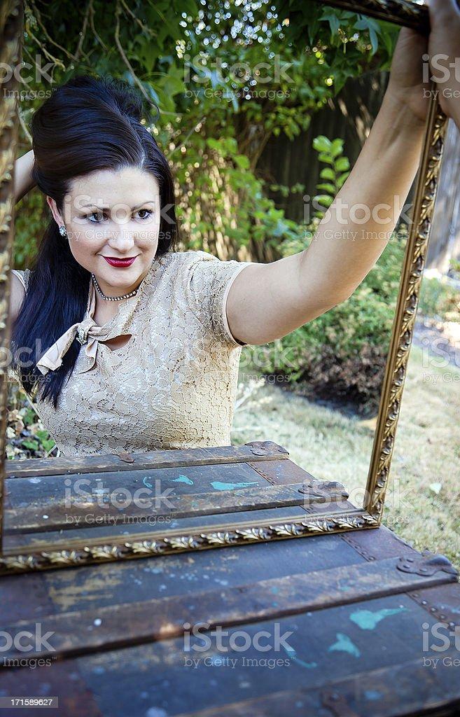 Lovely Reflection stock photo