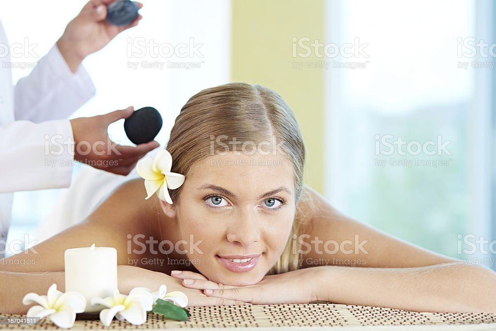 Lovely relaxation royalty-free stock photo