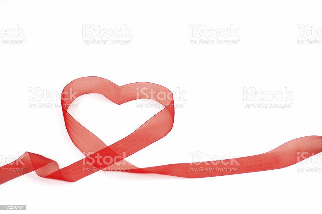Lovely ribbon royalty-free stock photo