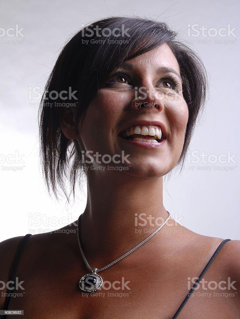 Lovely Smile stock photo