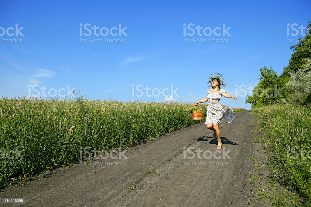 Lovely summer royalty-free stock photo
