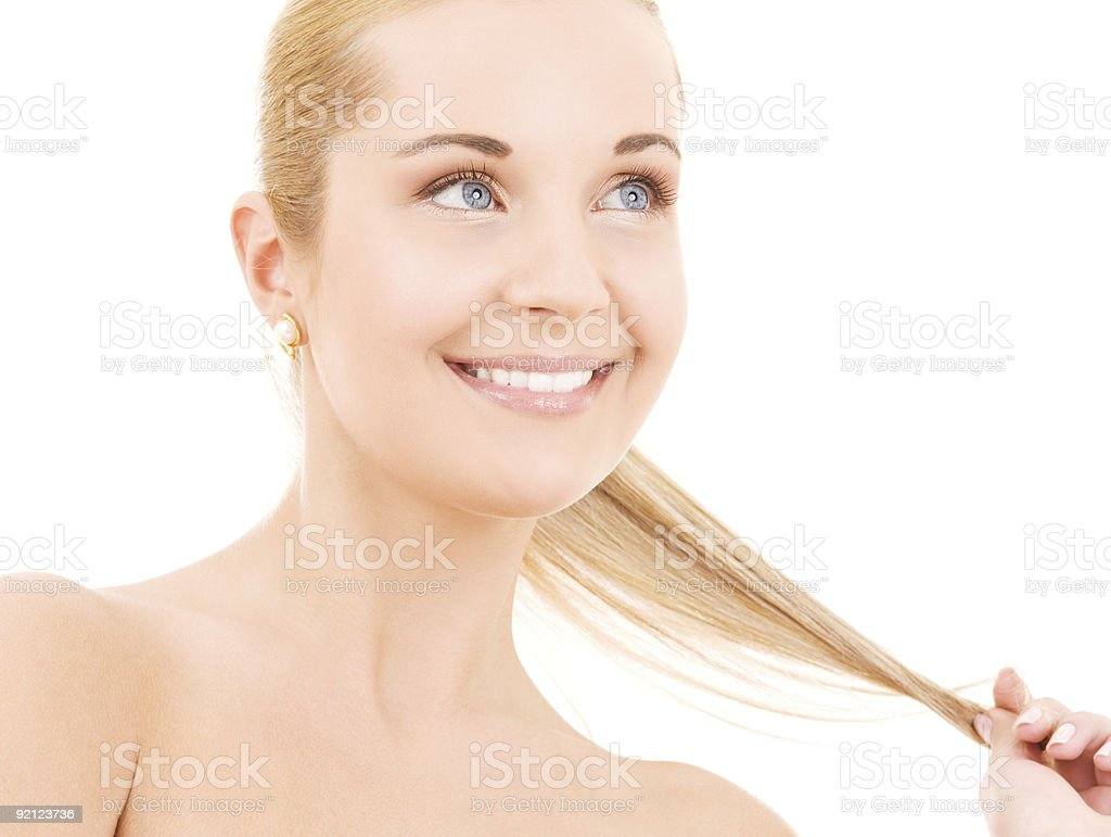 lovely woman royalty-free stock photo