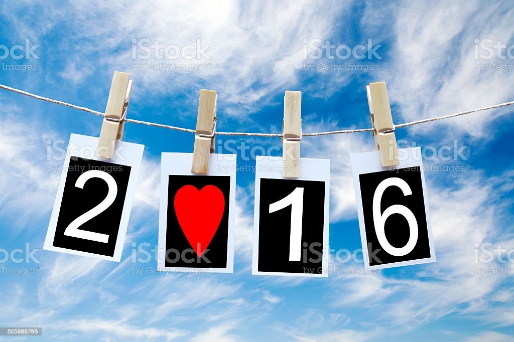 Lovely Year stock photo