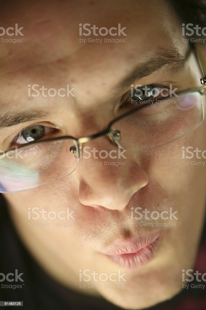 Lovely young man stock photo