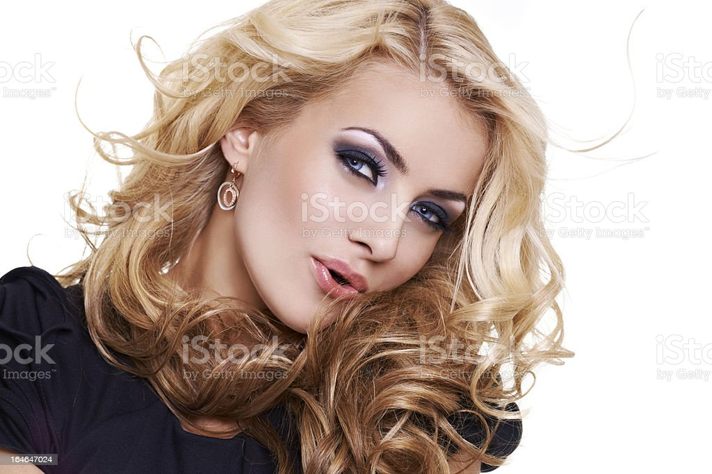 Lovely young woman royalty-free stock photo