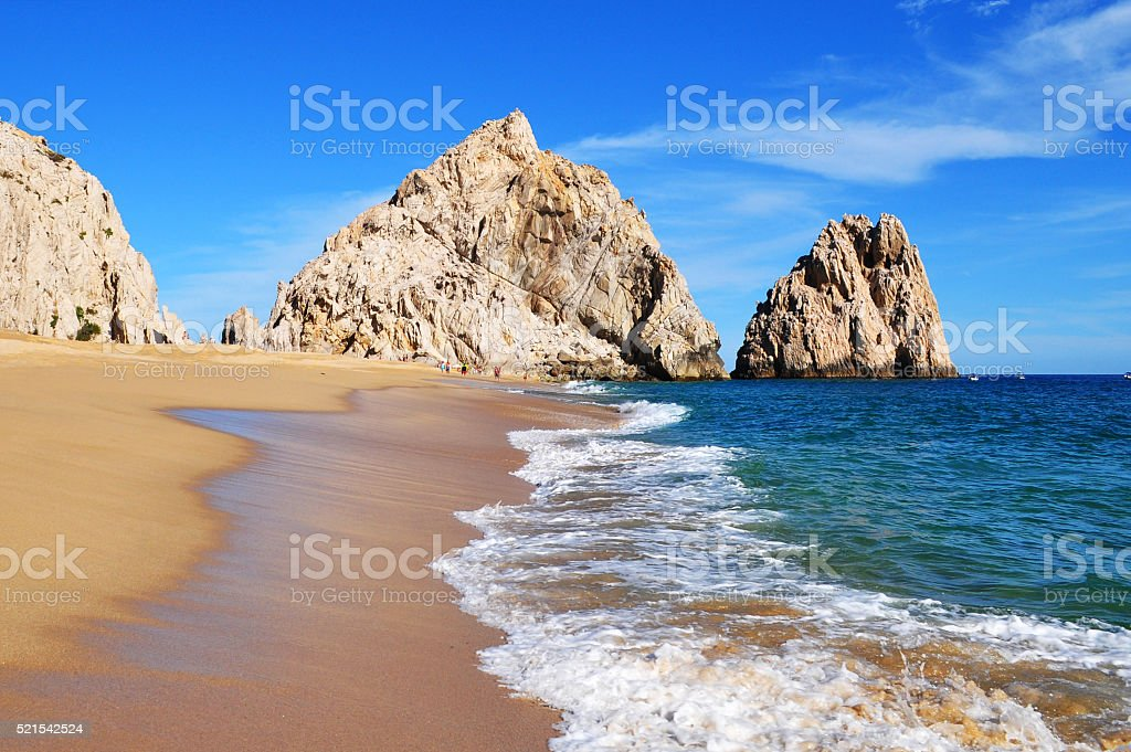 Lovers Beach, Cabo San Lucas, Baja California Sur, Mexico stock photo