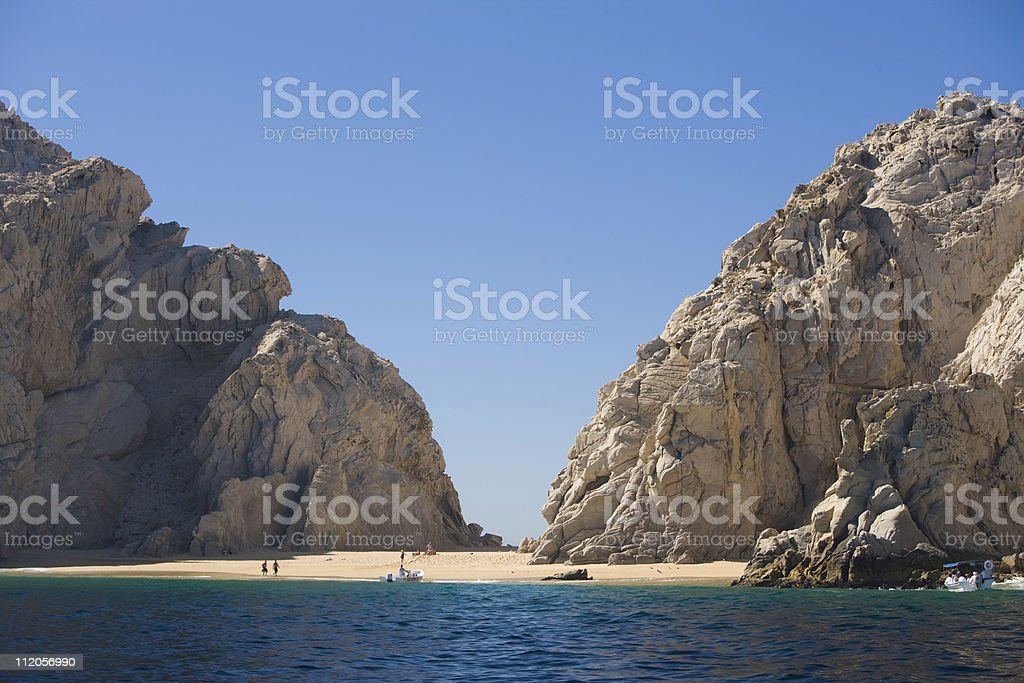 Lover's Beach in Cabo San Lucas. royalty-free stock photo