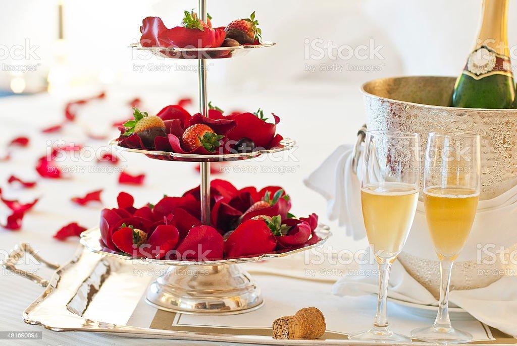 Lovers Honeymoon Suite stock photo