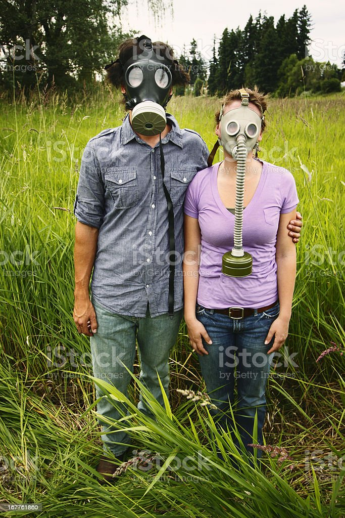 Lovers in a Dangerous Time stock photo