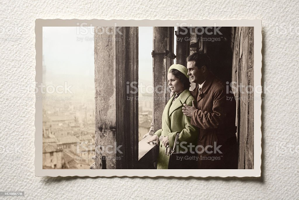 Lovers. stock photo