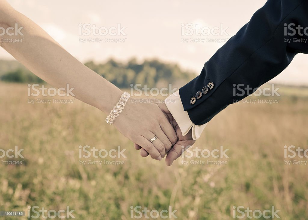 Lovers stock photo