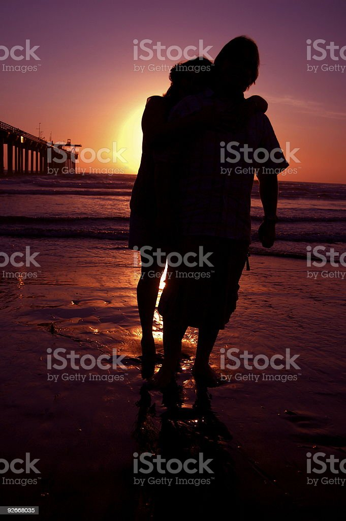 Lovers! royalty-free stock photo