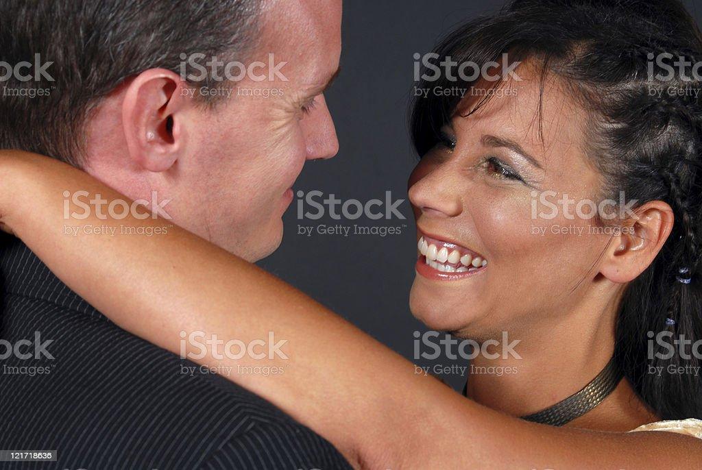 Lovers Smile stock photo