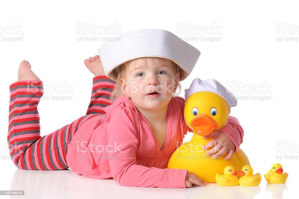 Lovey Duckie royalty-free stock photo