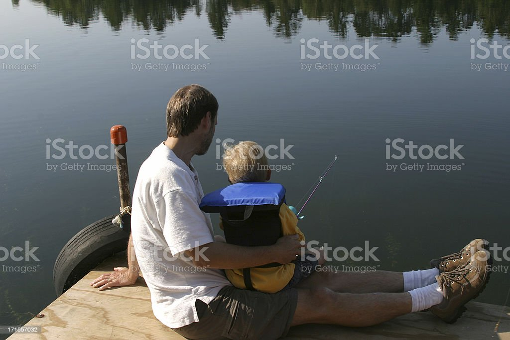 Lovin' Fishing Series royalty-free stock photo