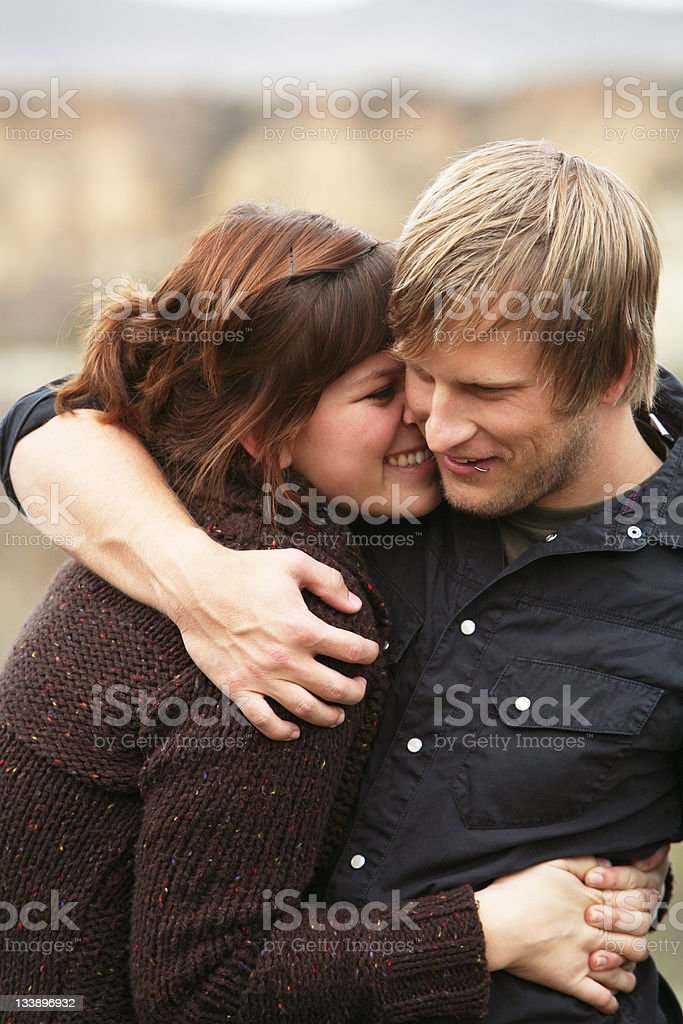 Loving Affectionate Portrait royalty-free stock photo
