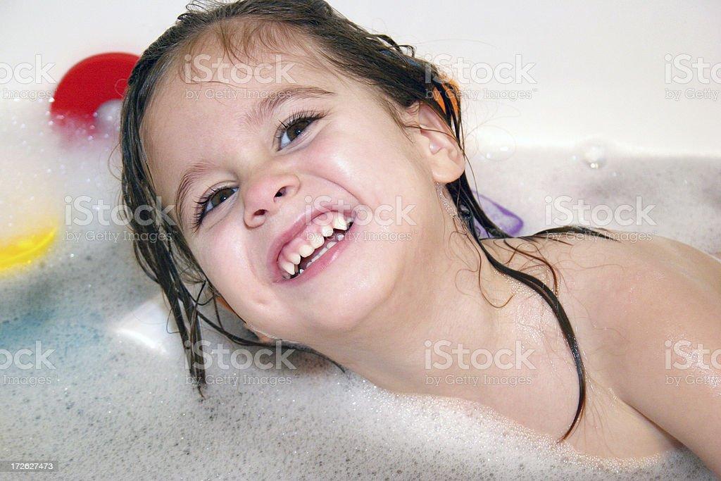 Loving Bath Time royalty-free stock photo